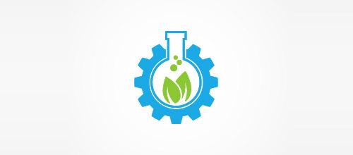 pharma tech tube logo design