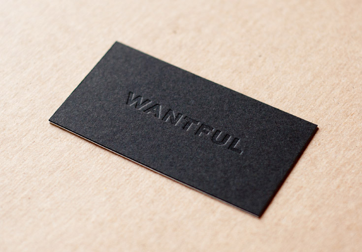 30  incredible examples of blind deboss business card