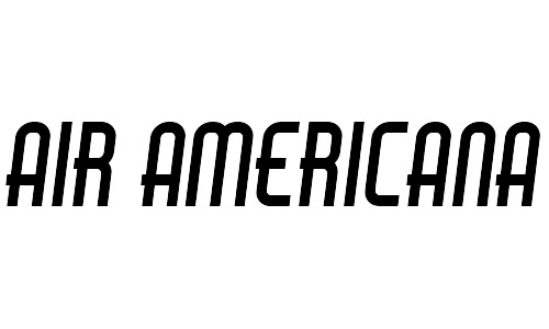 air Americana free bold fonts