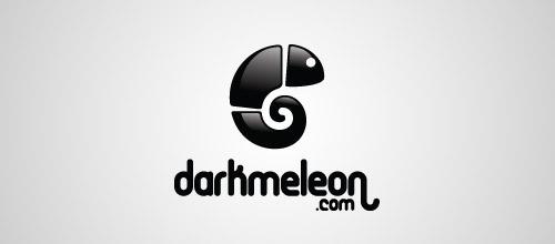 darkmeleon logo design