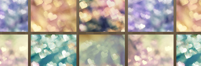 A Cool Collection Of Heart Bokeh Textures You Should See