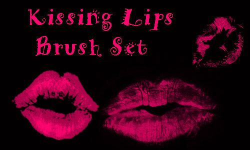 lips brush set