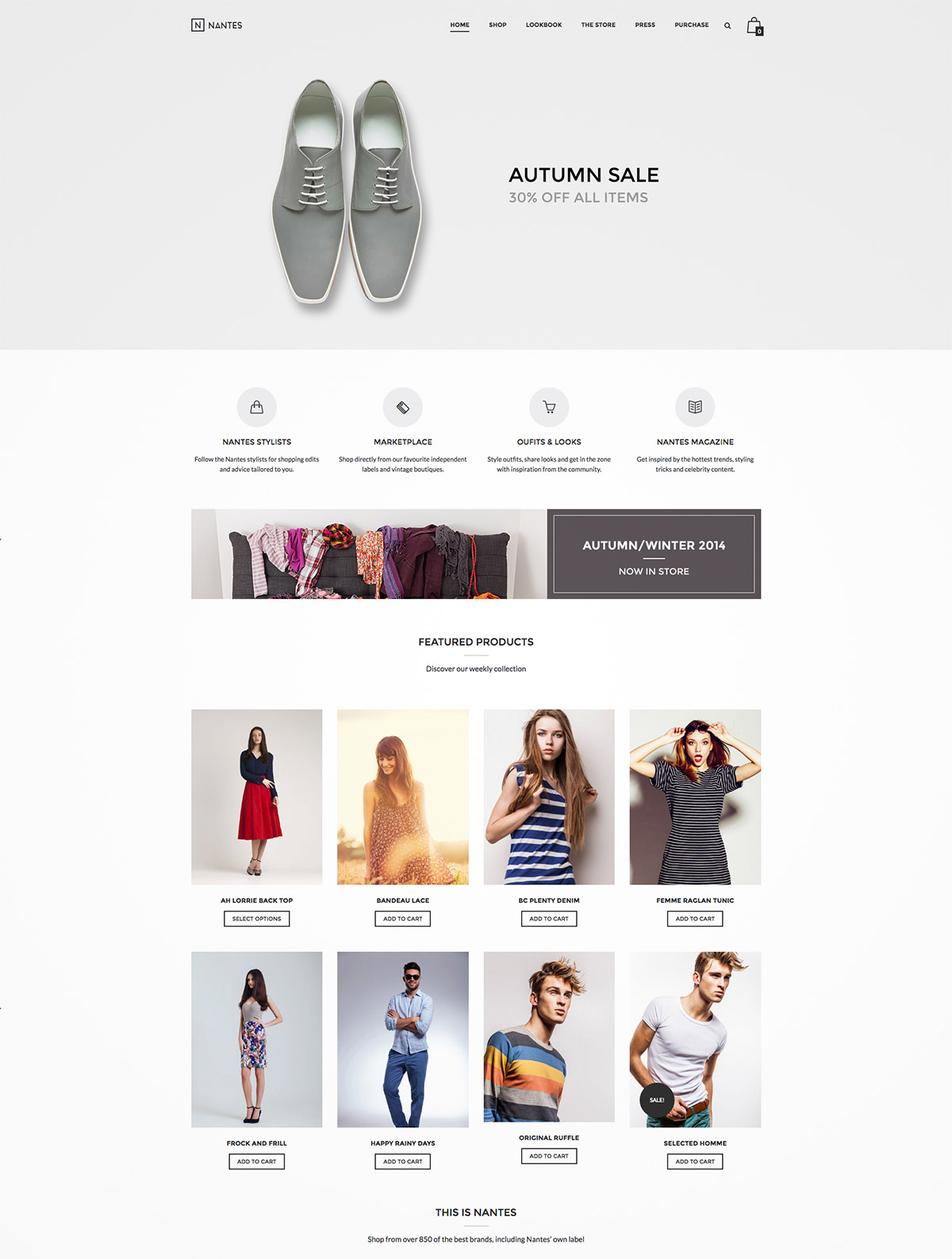 creative ecommerce themes