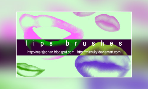 lips brushes photoshop
