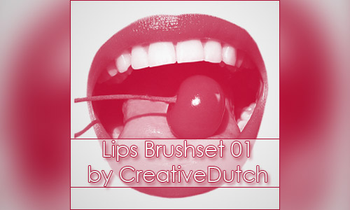 brushes photoshop lips