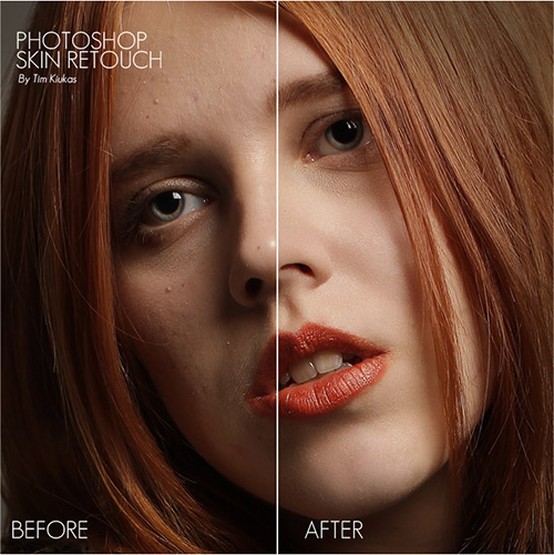 skin retouch tutorial photoshop