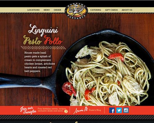 pastini pasta website