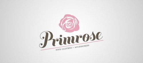 primrose logo design