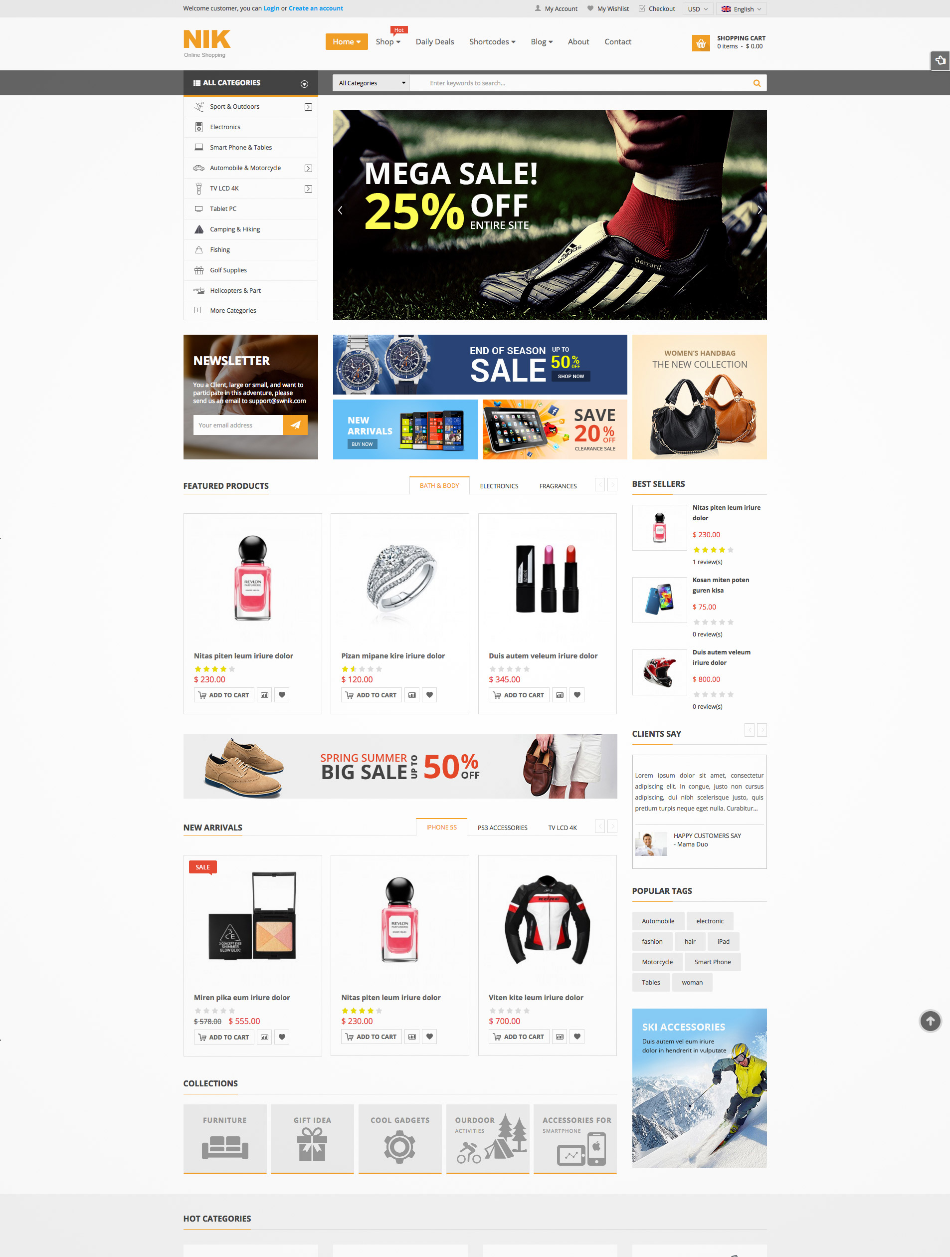 responsive woocommerce wordpress