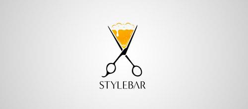 stylebar logo scissors
