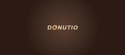 donutio logo design