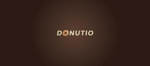 donutio logo design