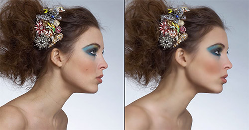 retouch airbrush photoshop tutorial