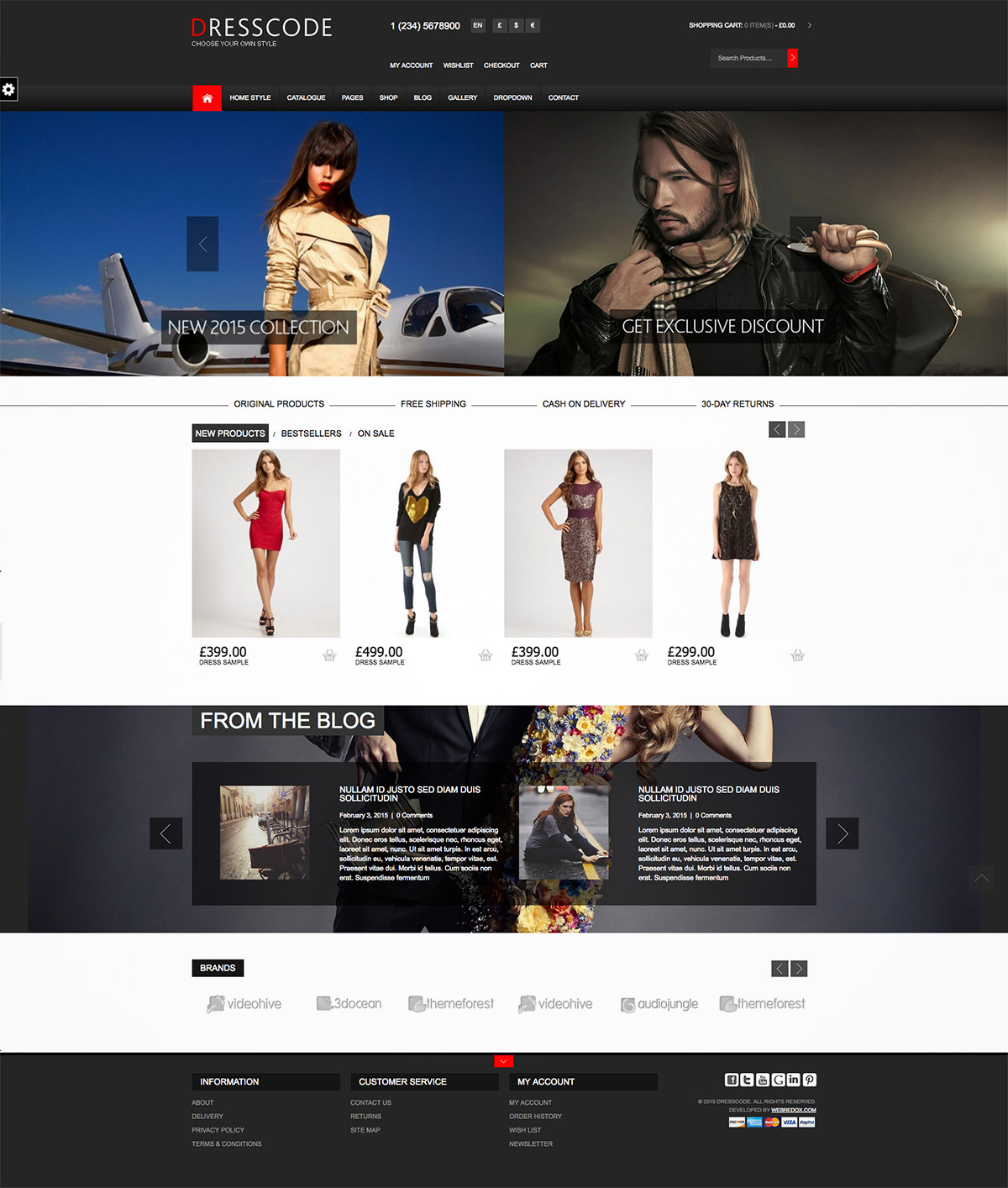 woocommerce fashion shop