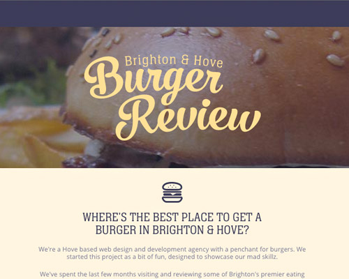 burger food web design