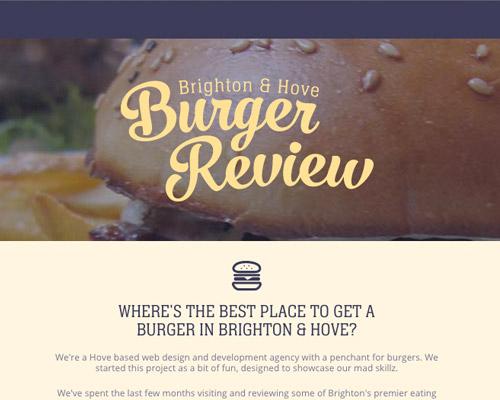 burger food web design