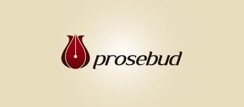 prosebud logo design