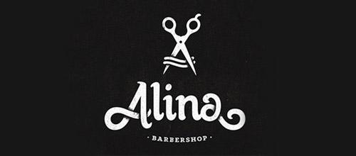 alina scissors logo