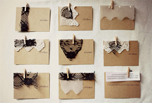 Chelsea fisher business card DIY