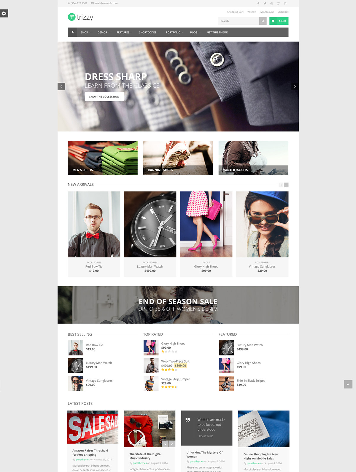 multipurpose themes ecommerce