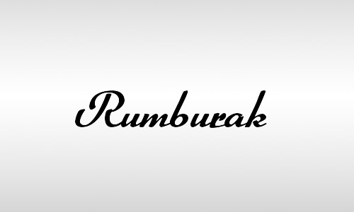 rumburak font vintage