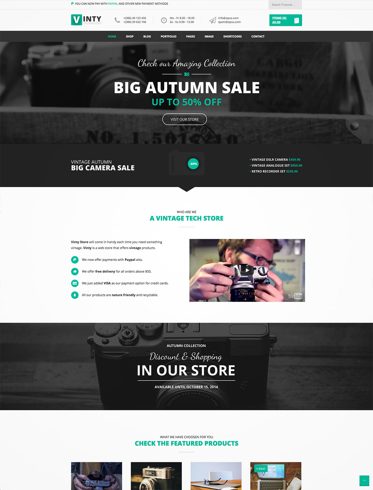 woocommerce business theme