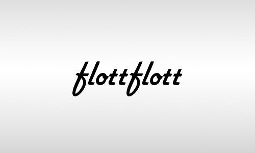 flottflott vintage font