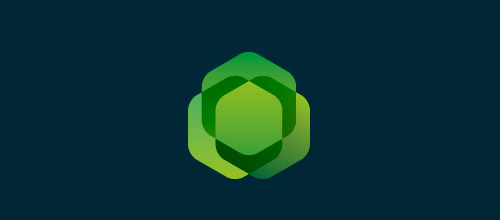 geometric clover logo