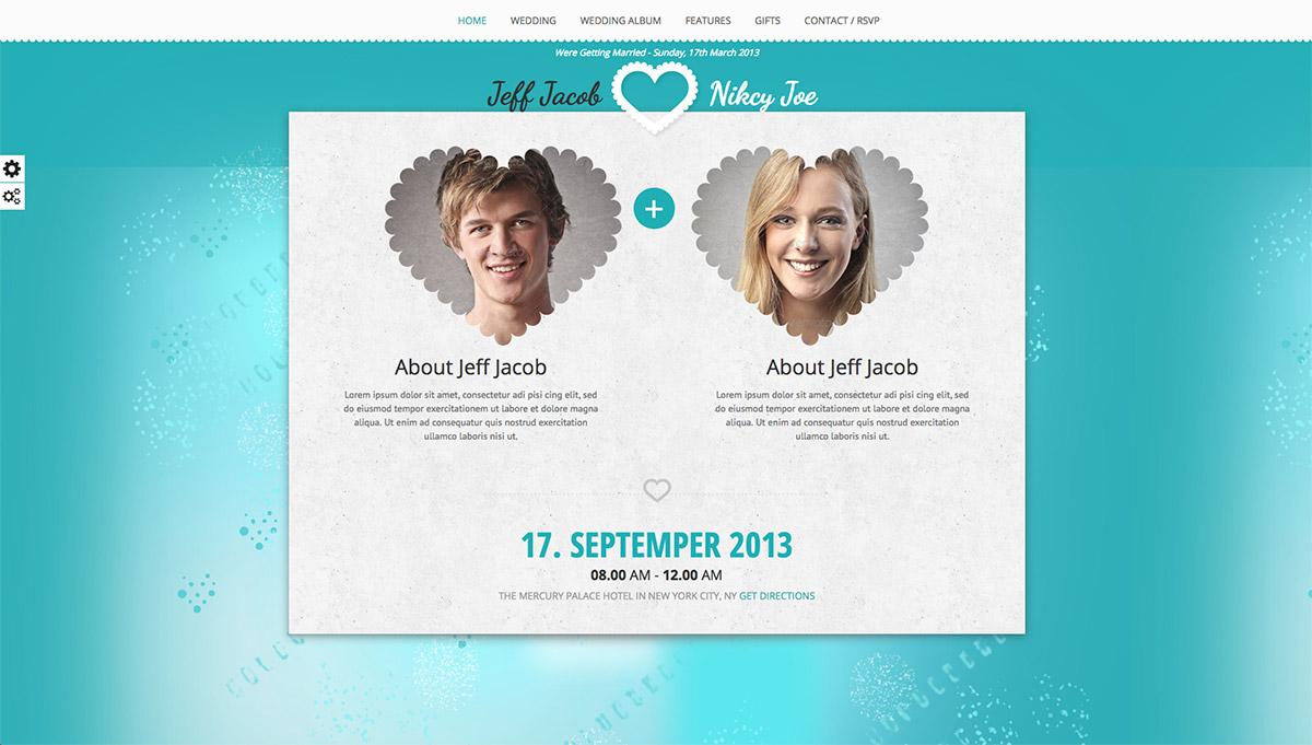 wedding premium wordpress