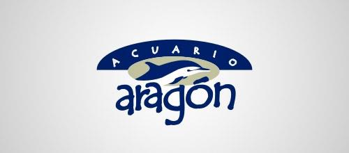 aragon dolphin logo design