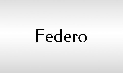 federo font vintage free