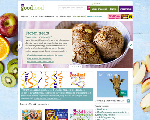 good food web design