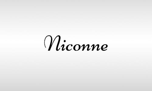 niconne vintage fonts