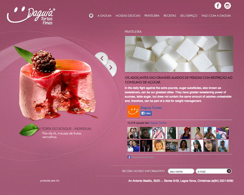 sweet food website