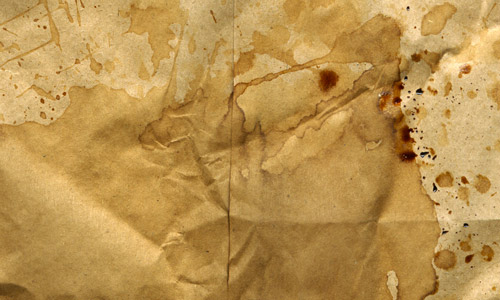 coffee stained paper bag texture