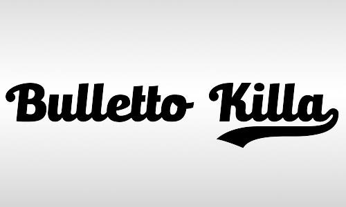 bullet killa vintage fonts