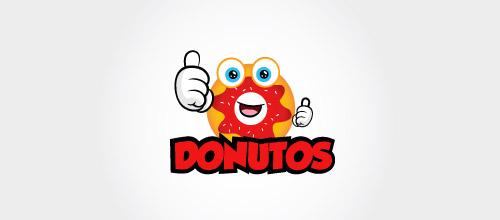 donutus logo design