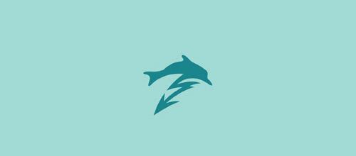 energy dolphimn logo esign