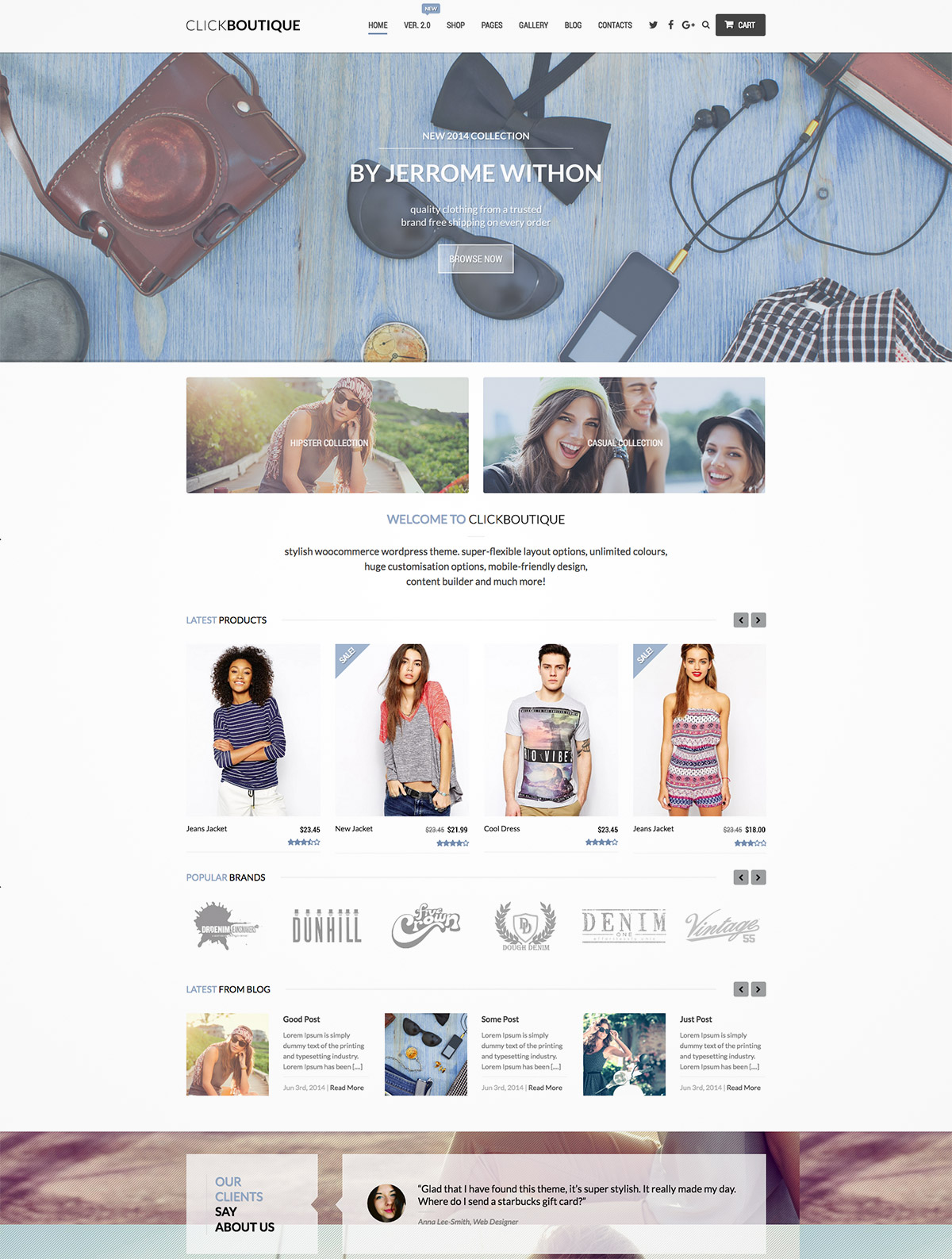 fashion shop themes