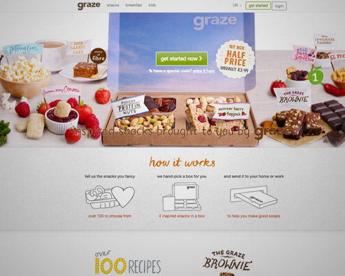 graze food web design