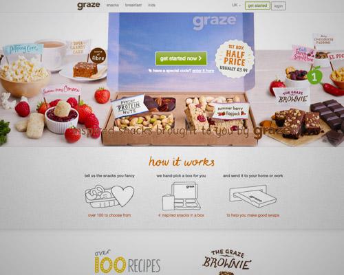 graze food web design