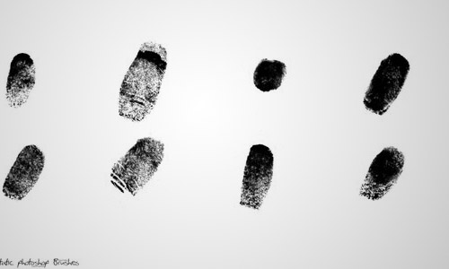 fingerprint brush photoshop