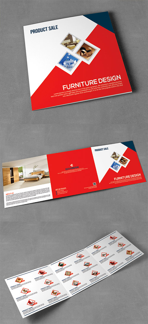 product trifold brochure design