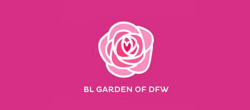 BL garden logo design