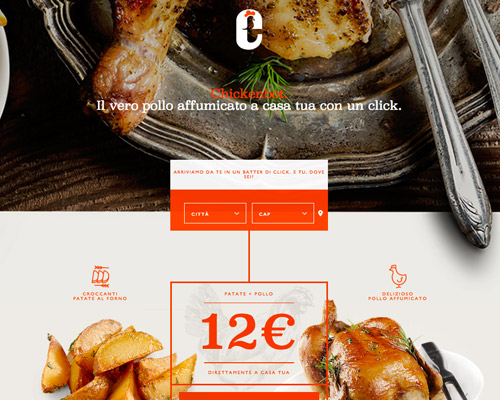 chicken food website