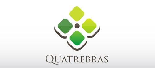 quatresbas clover logo