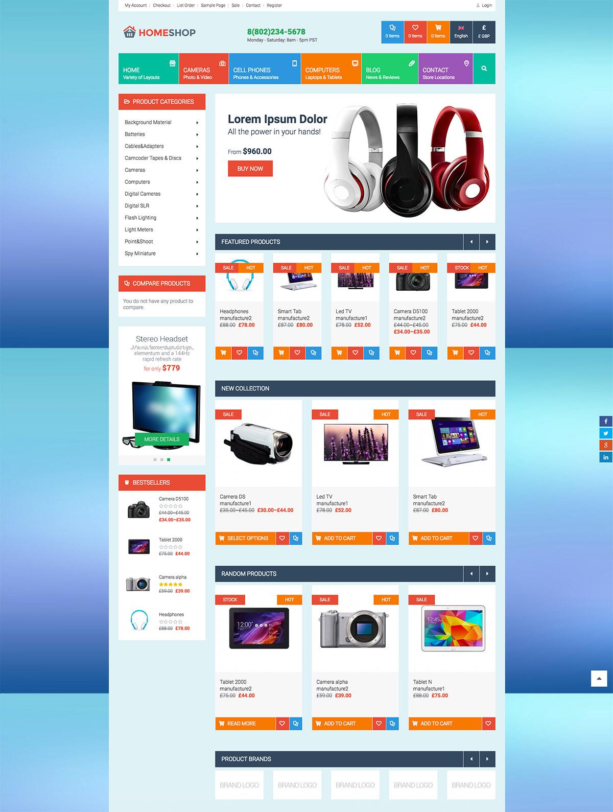 ecommerce themes premium