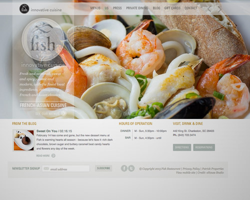 fish food web design