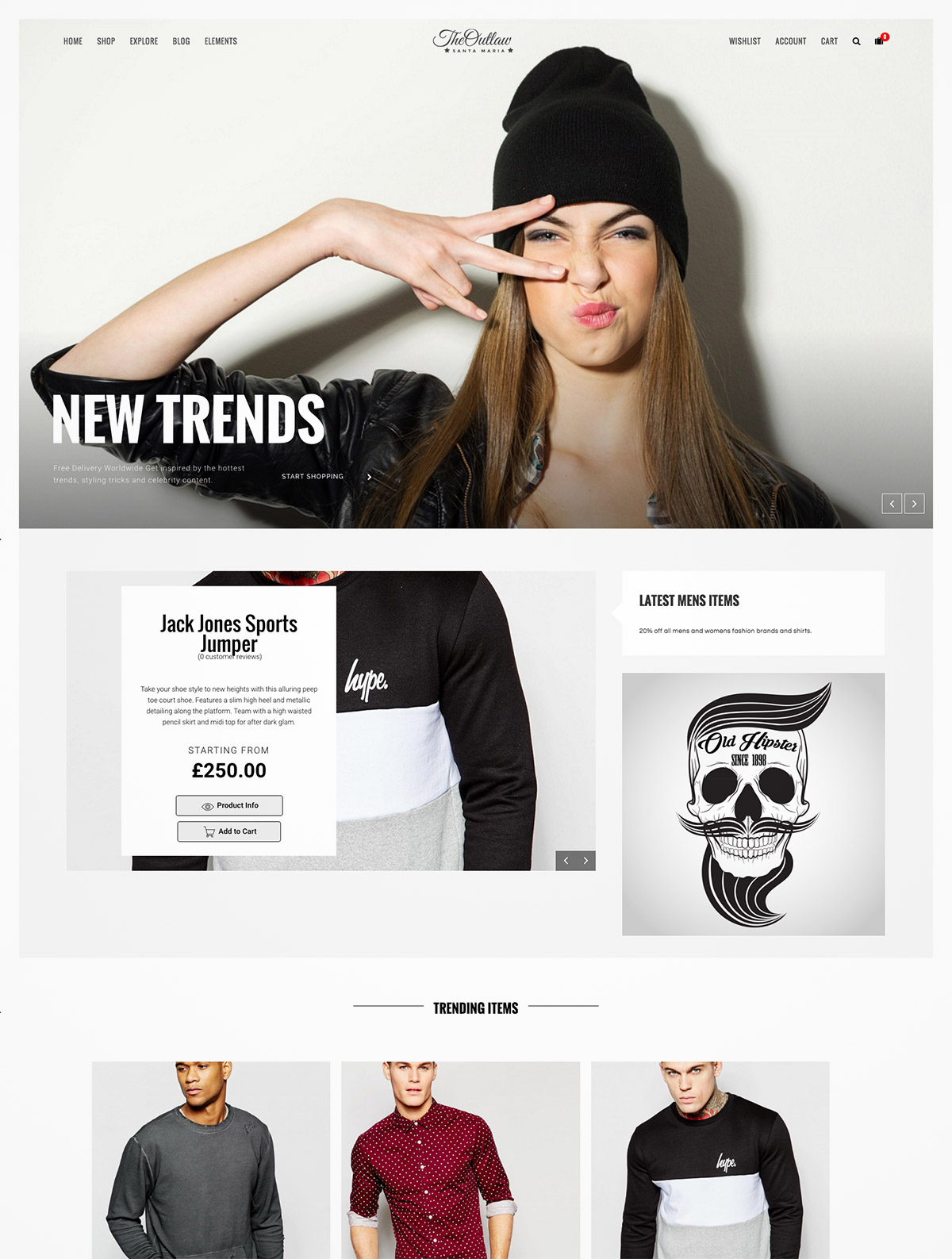 stylish ecommerce template
