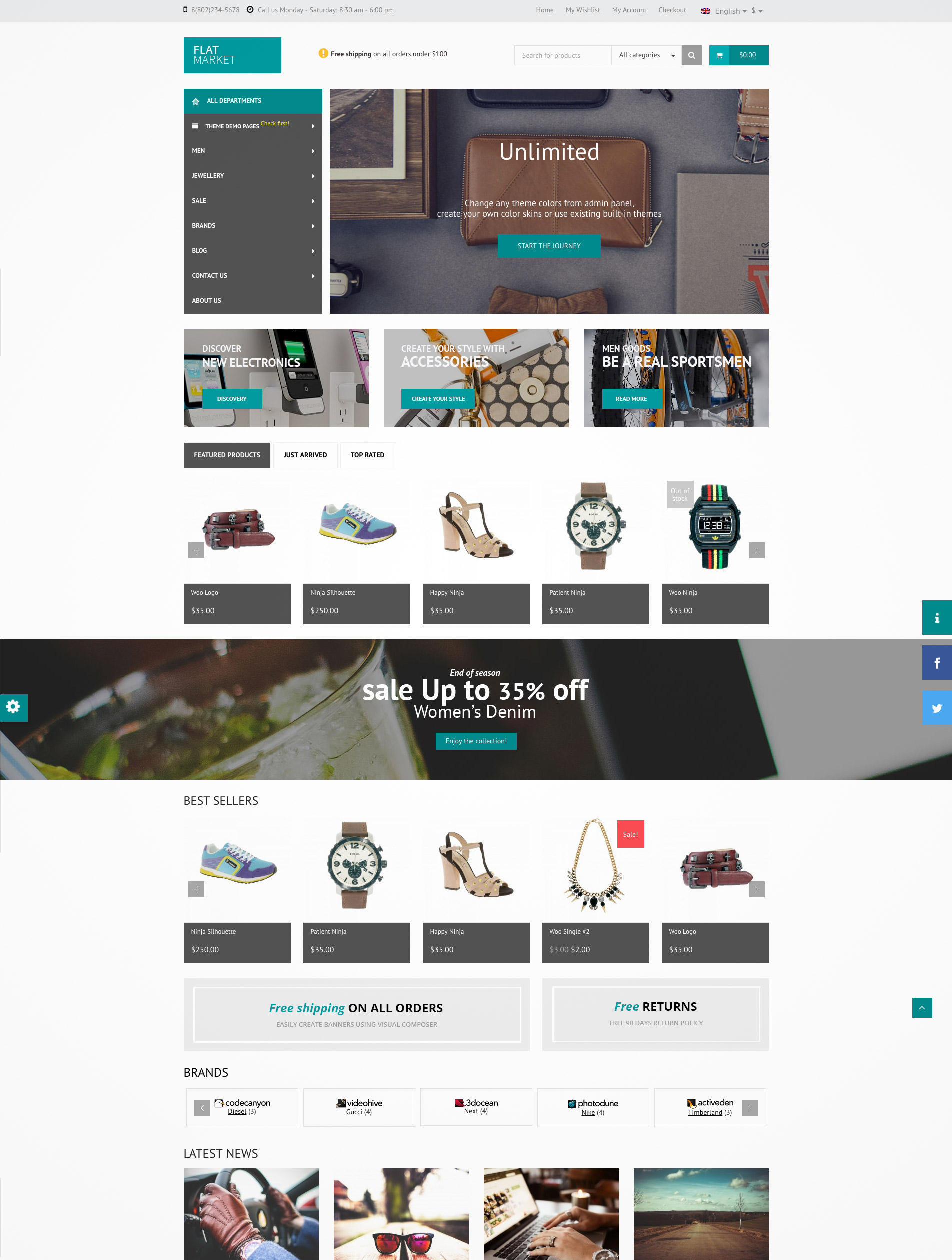 multipurpose template premium
